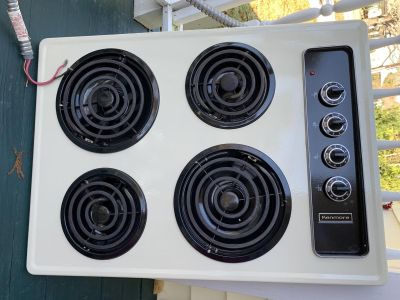 Kenmore electric cooktop approx. 28.5 x 20.75