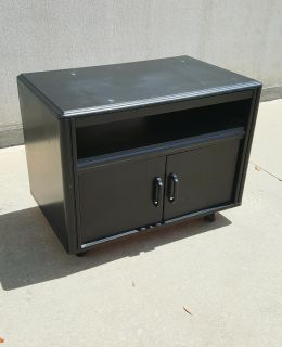 Small Roll Around TV Stand or Microwave Cabinet