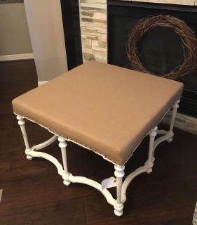 Ottoman Coffee Table *Unique one of a kind piece*