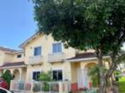 Tuscan Lake Villas in Miami Lakes Area Townhouse for Rent