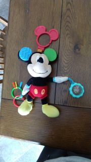 Mickey mouse stroller toy