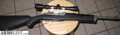 For Sale: Stainless Ruger Mini 14