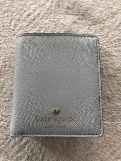 Kate Spade Mini Leather Wallet Coin Purse Zip