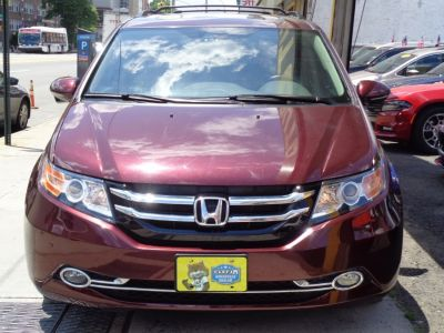 2014 Honda Odyssey Touring (Dark Cherry Pearl)