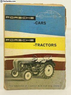 1960 Porsche Cars and Tractors History Brochure