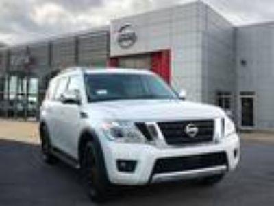 2018 Nissan Armada White, new
