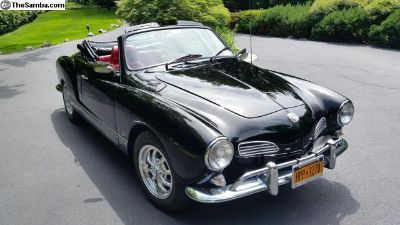 Vintage classic for sale - 1970 Karmann Ghia Conve