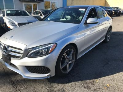 2015 Mercedes-Benz C-Class 4dr Sdn C400 4MATIC (Silver)