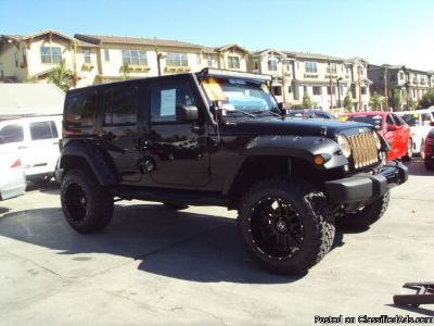2014 *JEEP* *WRANGLER* *UNLIMITED DRAGON* $0 DOWN! CALL FOR PRICE!