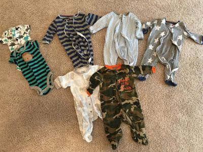 Baby Boy Clothes 0-3 month