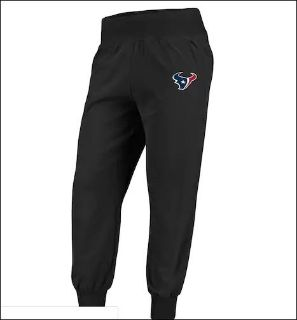 NWT Houston Texans Jogger Med Pants Gym Wok Out Sweat Sports running Training Lounge