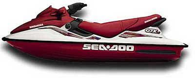 1999 Sea-Doo GTX Limited PWC 3 Seater Shawano, WI