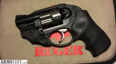 For Sale: RUGER LCR 38 Special with LASER