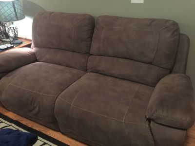 Electric Double recliner couch