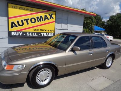 2002 Mercury Grand Marquis LS Premium (Gold)