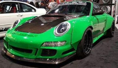 Purchase Porsche 997 GT3.2 Style Front Lip Fits GT3 Bumper Carbon Fiber 2x2 ( LIP ONLY) motorcycle in Northridge, California, United States, for US $695.00
