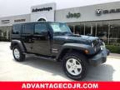 2018 Jeep Wrangler Unlimited Black, 16 miles