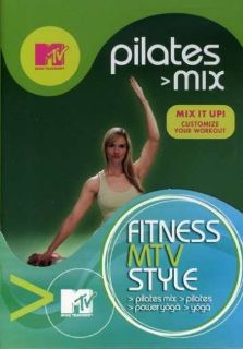 MTV Fitness Four Pack: (Pilates Mix / Pilates / Yoga / Power Yoga)