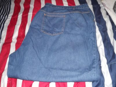 Woman Within 38W jeans - wide leg