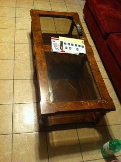 Coffee table Must go soon (Natchitoches Coushatta)