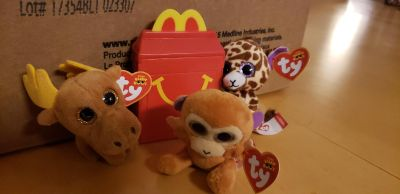 MacDonald little happy meal toys