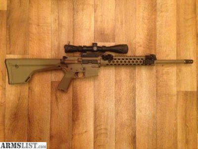 For Trade: AR-15 (DMR Clone) with Leupold Mark AR Mildot Scope