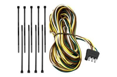 Purchase Tow Ready 118192 - 4-Flat Trailer End 25' Connector w Dual Tail Light Wires motorcycle in Plymouth, Michigan, US, for US $22.36
