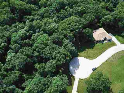 12 Brookewood Drive Caseyville, WOODED WALKOUT LOT!