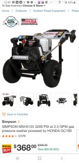 Multi duty all in one power washer.