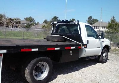 1999 Ford F450-Flatbed-Truck