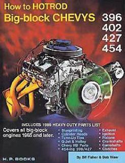 Sell HP Books 0-912-656042 Book: How To Hot Rod Big-Block Chevys motorcycle in Delaware, Ohio, United States, for US $18.65
