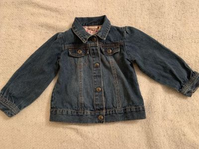 *LAST CALL - donating Wednesday** ,,, light weight denim jacket by Arizona jeans ... size 3T
