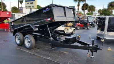 2018 Hawke 6X12 Heavy Duty Lo-Profile Dump Trailers Fort Pierce, FL