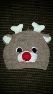 Reindeer beanie fits size 0 to 12 months