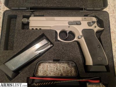 For Sale: CZ 75 SP-01 Tactical Suppressor Ready