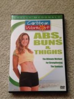 Abs, Buns, & Thighs workout DVD