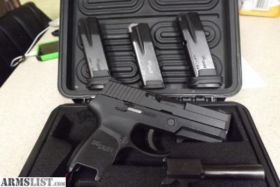For Sale: Sig Sauer P250 40 S&W and 357 Sig
