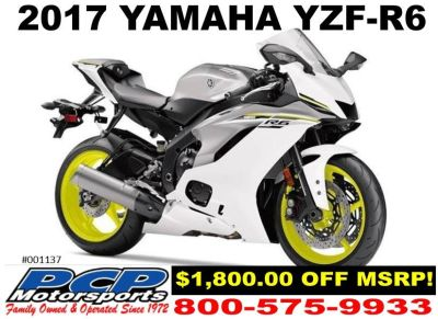2017 Yamaha YZF-R6 SuperSport Motorcycles Sacramento, CA