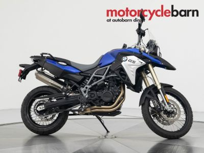 2016 BMW F800GS (Blue)