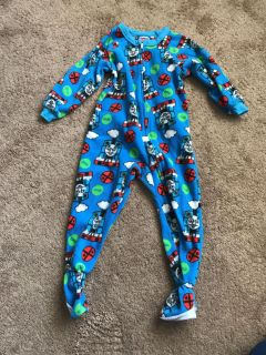 Size 3t boys footed pajamas