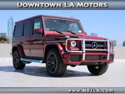 2018 Mercedes-Benz G-Class AMG G 63 (Storm Red Metallic)