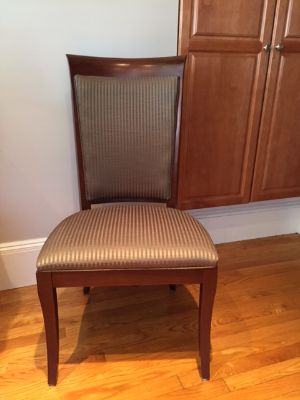 Dining room chairs by Ethan Allen