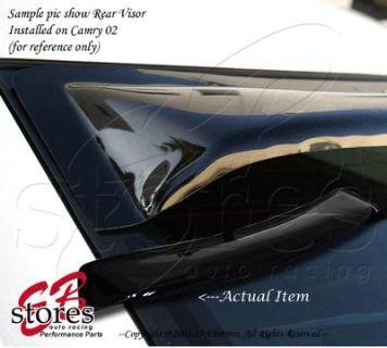 Purchase Sun Guard Rear Visor Wind Shield Deflector Toyota Corolla 1993-1997 DX LE Sedan motorcycle in La Puente, California, US, for US $40.95