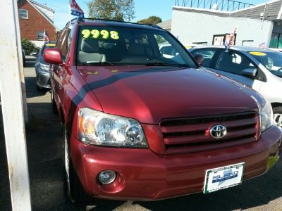2005 Toyota Highlander Base (Salsa Red Pearl)