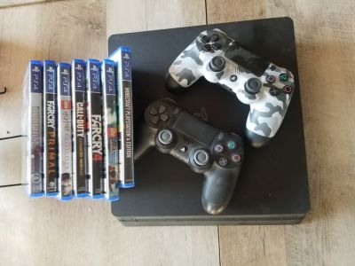 Ps4 bundle with games