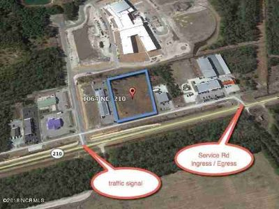 1064 Nc Highway 210 Sneads Ferry, The parcel is made up of