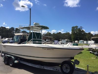 2001 Pursuit 2470 Center Console with twin 2012 Yamaha 150 4 stroke engines