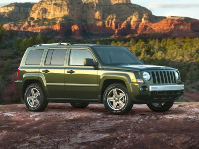 2007 Jeep Patriot Limited (Jeep Green Metallic Clearcoat)