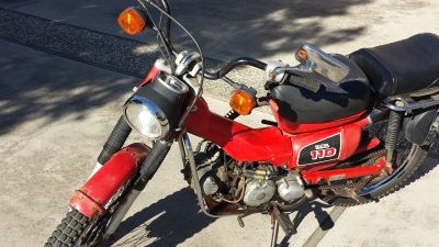 1986 Honda CT 110 TRAIL