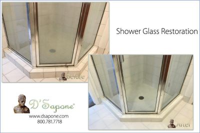 Residential Shower Glass Restoration